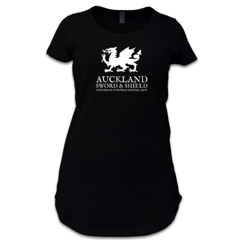 Womens Dark T - Auckland Sword and Shield Apparel